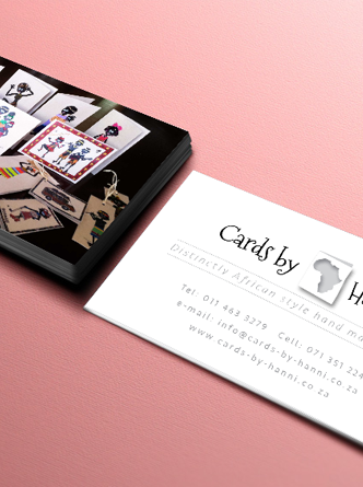 Cards by Hanni – Logo, Business Card & WebDesign