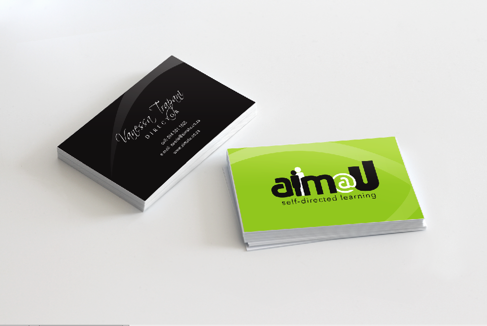 AIM@U Logo & Stationary Design